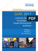 GUIA 2011 DE INSTITUTOS