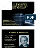 What Can OrgPsyc Learn From Montessori-V3