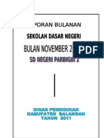 LAPORAN BULANAN SD 2011