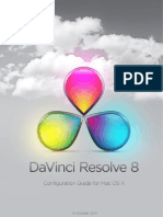 DaVinci Resolve Mac Config Guide