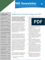 IPMS NEWSLETTER n° 6  AUG-DEC 2011