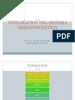 Exploracion Del Sistema Hematopoyetico