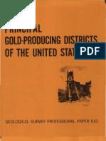 USGSPP610GoldDistrictsUnitedStates