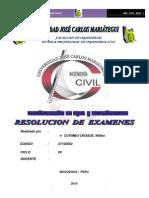 Resolucion Examenes de Abastecimiento de Agua y Alcantarrillado