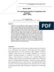 Nunca Más. The Politics of Transitional Justice in Argentina and Uruguay 1983 - 2010. Francesca Lessa