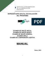 Manual Representante Estatal de EVALUACION - XXIX PEO