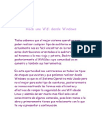 Hack Wifi Windows