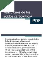_Reacciones acidos carboxilicos