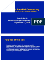 Parallel Computing Introduction