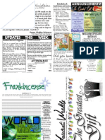 WHM Weekly Newsletter - 18 December 2011