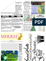 WHM Weekly Newsletter - 25 December 2011