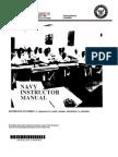 US Navy Course NAVEDTRA 134 - Navy Instructor Manual
