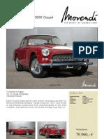 Triumph Italia 2000 Coupe 1960