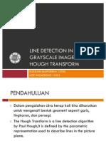 [Presentasi]Line Detection Using Hough Transform