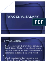 Wages vs Salary