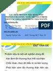 Xac Dinh Protein Nieu Bang Ty So Protein-creatinin Nuoc Tieu Bai o Benh Nhan Cac Khoa Noi BVDKTW Thai Nguyen