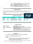 For Technical Support Executive Resume