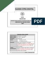 Transparansi Pengolahan Citra Digital
