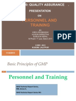 Personnel and Training Slides