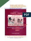 CANTE PAUTAS 10 Padre Marvão - Estudos Cante
