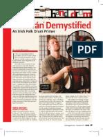 Bodhran Article DRUM!