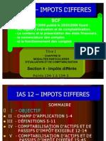 SCF IMPOTS DIFFERES