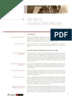 Alterações Fiscais 2011