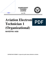 US Navy Course NAVEDTRA 14030 - Aviation Electronics Technician 1 Organizational)