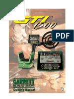 Mode d'emploi Notice GARRETT  GTI 1500 en français
