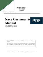 US Navy Course NAVEDTRA 14056 - US Navy Customer Service Manual