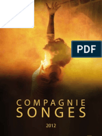 Compagnie Songes - Présentation des spectacles 2012