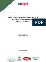 SESI AC Protocolos Biosseguranca Pro Fission a Is Odontologia