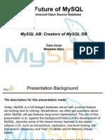 MySql Presentation