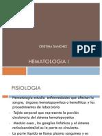 HEMATOLOGIA I