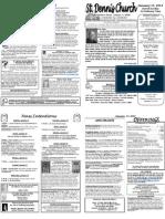 January 15 Bulletin