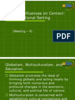 PB9MAT_9. Cultural Influences on Educational Context