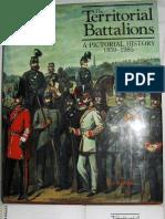Territorial Battalions 1859 to 1995
