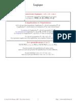 LogiqueResume - algebre - L1