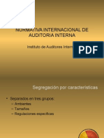 03 Normativa Internacional Auditoria Interna