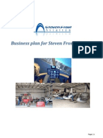Business Plan - Steven Frost Aviation