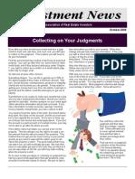 Newsletter November 2008