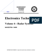 US Navy Course NAVEDTRA 14089 Vol 04 - Electronics Technician—Radar Systems