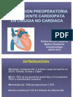Cact Valoracion Preoperatoria Del Paciente Cardiopata en Cirugia No Cardiaca