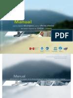 Manual para la medición del progreso y de los efectos directos del manejo integrado de costas y océanos