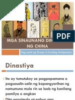 Mga Sinaunang Dinastiya Ng China