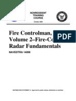 US Navy Course NAVEDTRA 14099 - Fire Control Man Volume 2-Fire-Control Radar Fundamentals