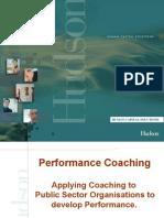 Hudson Public Sector Coaching Talk