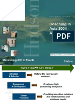 Coaching in Asia - A Review by Hudson 2004-Notes