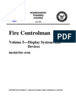 US Navy Course NAVEDTRA 14102 - Fire Control Man Volume 5-Display Systems and Devices