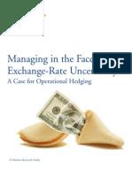 Exchange Rate Study